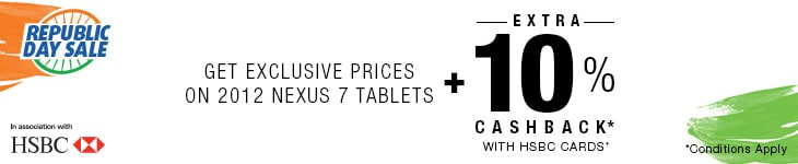 Exclusive Prices on Google Nexus 7 Tablets