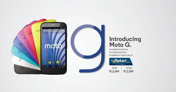 Buy Moto G Now
