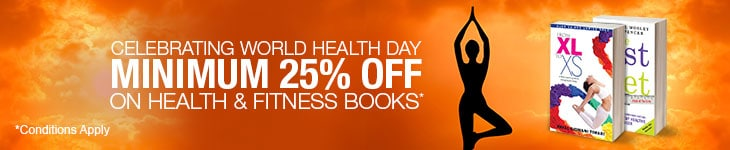 Minimum 25% Off on Health and Fitness Books