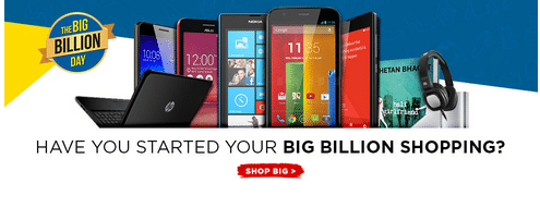 Flipkart's The Big Billion Day Sale