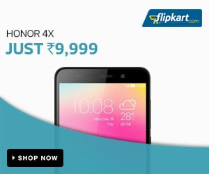 Honor 4X - At just Rs. 9999