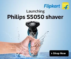 Launching Philips Shaver - S5050 Only on Flipkart