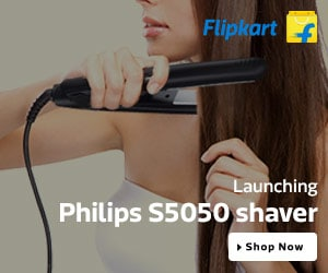 Launching Philips Hair Straightener - At Just Rs. 999