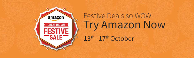 Get Ready for Amazon.in Great Indian Festive Sale from 13th October