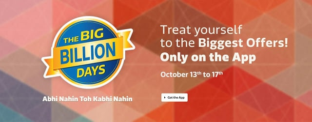 Get Ready for Flipkart's Big Billion Days Sale 2 from October 13