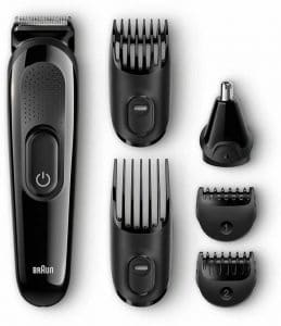 Braun MGK3020 6-in-one Multi Grooming and Trimmer Kit