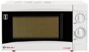 Bajaj 1701MT 17 L Solo Microwave Oven