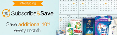 Amazon Subscribe & Save: Additional 10% Off Every Month