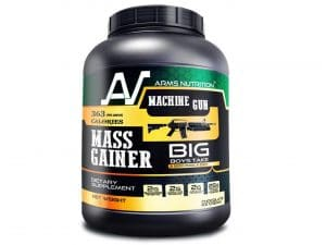 Arms Nutrition Machine Gun Mass Gainer Chocolate Ice Cream, 1 Kg