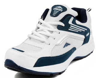 Asian Shoes FUTURE-01 White Navy Blue Men's Shoes