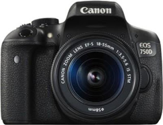 Canon EOS 750D with 18-55 IS STM Lens