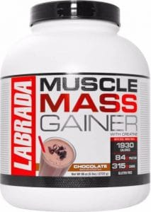 Labrada Mass Gainer Chocolate, 6 lbs