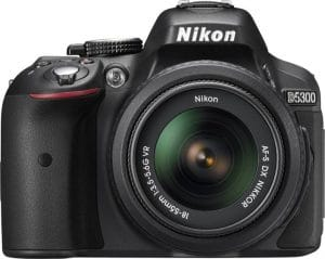 Nikon D5300 24.2MP Digital SLR Camera(Black) with AF-P 18-55 and AF-P DX NIKKOR 70-300mm f/4.5-6.3G VR Kit