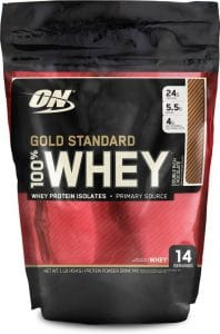 Optimum Nutrition (ON) Gold Standard 100% Whey Protein - 1 lb
