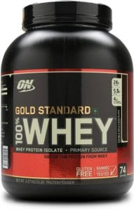 Optimum Nutrition (ON) Gold Standard 100% Whey Protein - 5 lbs, 2.27 Kg