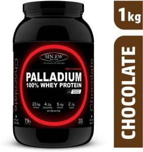 Sinew Nutrition Palladium Whey Protein with Digestive Enzymes Chocolate