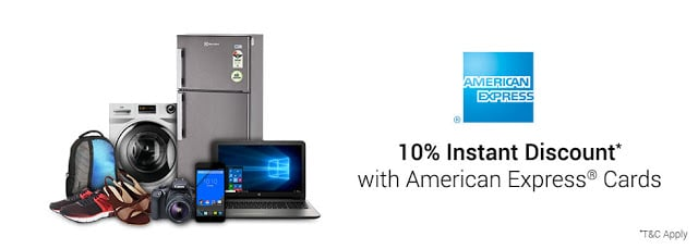 [Last Sale] Flipkart 10% Instant Discount on American Express Cards (29-30 Oct) | No Cost EMI & Exchange Offers upto 27K on Various Categories
