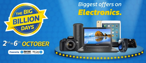 Best Deals & Offers at Flipkart Big Billion Days Sale