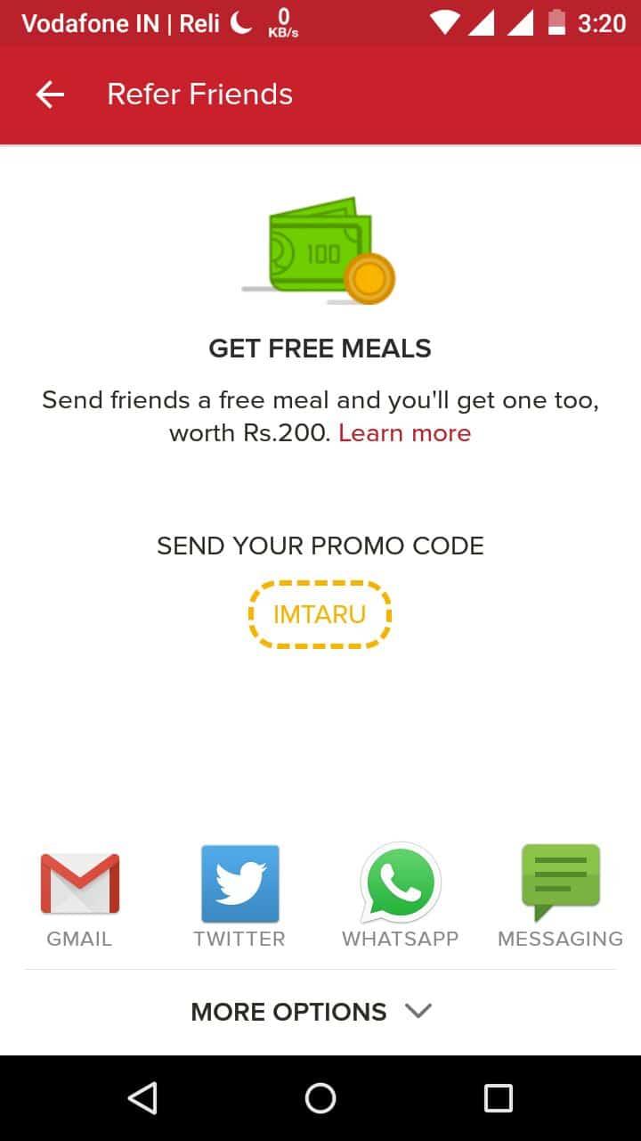 uber eats promo code kochi
