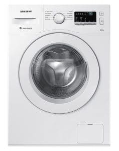 Samsung WW60M206LMW/TL 6 Kg Fully-Automatic Front Loading Washing Machine