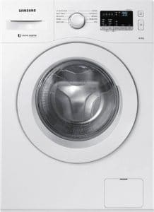Samsung WW60M206LMW:TL 6 kg Fully Automatic Front Load Washing Machine