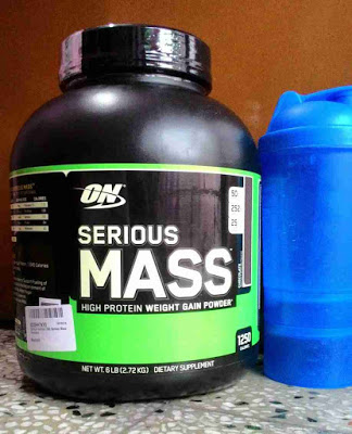 Optimum Nutrition Serious Mass Bought from Amazon