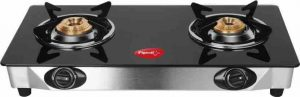 Pigeon Blackline Smart Gas Stove, 2 Burner