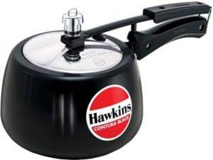 Hawkins Contura Hard Anodised Aluminium 3 L Pressure Cooker