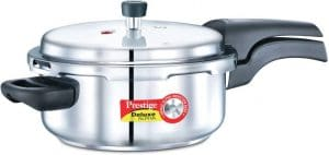 Prestige Deluxe Alpha Stainless Steel 3 L Pressure Cooker