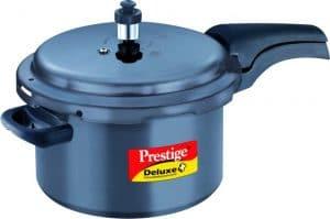 Prestige Deluxe Plus Hard Anodized 5L Pressure Cooker