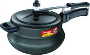 Prestige Nakshatra Plus Hard Anodised Aluminium 5 L Pressure Cooker