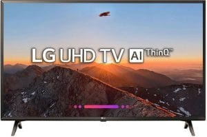 LG 43 Inch 43UK6360PTE 4K UHD LED Smart TV