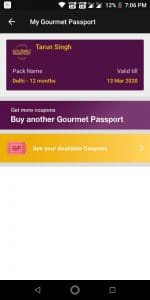 Get 12 Months Dineout Gourmet Passport for Free