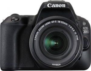 Canon EOS 200D 24.2MP Digital SLR Camera + EF-S 18-55 mm f4 is STM Lens