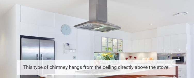 Ceiling Mounted Chimney