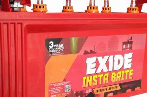Exide 150Ah New Instabrite Inverter Ups Battery