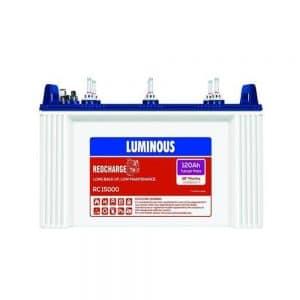 Luminous RC 15000 Tubular 120AH Battery
