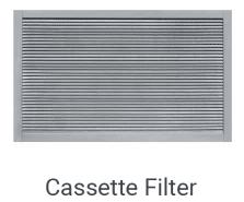Mesh or Cassette Filter