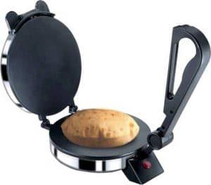 """BAJAJ VACCO 900W """"Go-Ezzee"""" Non-Stick Chapati Maker C-02"""
