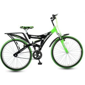 Hero Ranger DTB Steel Single Speed Mountain Bike, Adult 26T