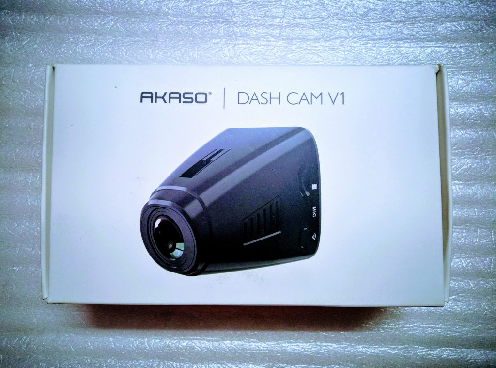 AKASO V1 Dash Cam Review