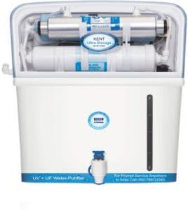 Kent Ultra Storage 7 L, UV and UF Water Purifier