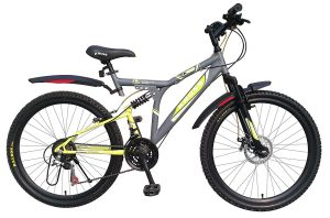 Kross K 40 21Speed Disc 26 Grey&Green 402232 Mountain Cycle