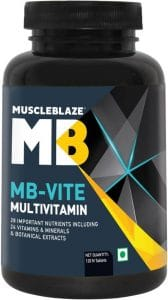 Muscleblaze Mb-Vite Multivitamin (120 Tablets)