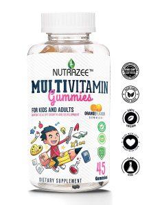 Nutrazee Complete Multivitamin Vegetarian Gummies