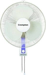 Crompton High Flo Wave 400mm Wall Mounted Fan