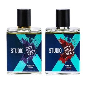 Set Wet Studio X Edge and Impact Perfume Spray For Men