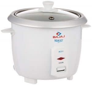 Bajaj Majesty RCX 1 Mini 0.4-Litre Multifunction Rice Cooker