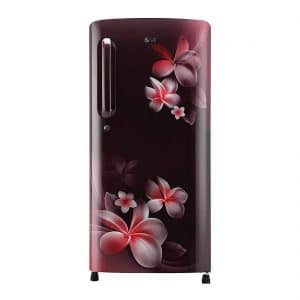 LG GL-B201ASPY 190 L 5 Star Inverter Direct-Cool Single Door Refrigerator