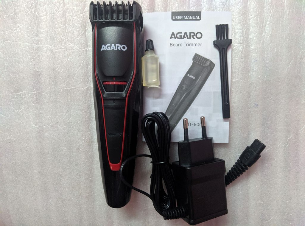AGARO MT 6001 Trimmer In-Box Contents and Price